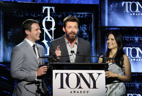 FREEZE FRAME: Hugh Jackman Surprises at the Tony Award Nominations