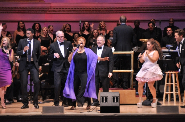 Kerry Butler, Corey Reynolds, Scott Whitman, Jenifer Lewis, Marc Shaiman and Marissa Jaret Winokur