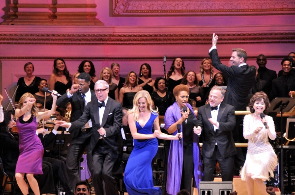 Kerry Butler, Scott Whitman, Laura Bell Bundy, Jenifer Lewis, Marc Shaiman and Linda  Photo