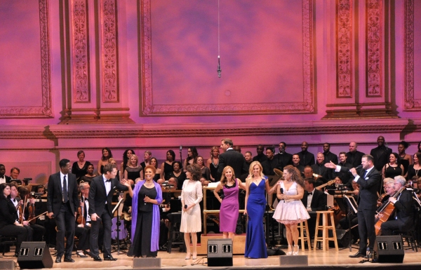 Corey Reynolds, Matthew Morrison, Jenifer Lewis, Linda Hart, Kerry Butler, Laura Bell Photo
