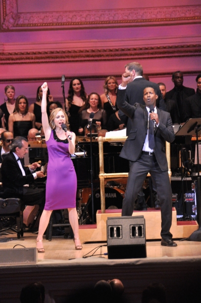 Kerry Butler and Corey Reynolds Photo