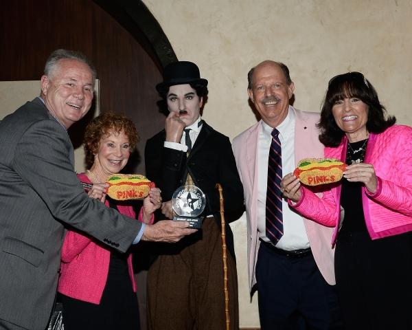Tom LaBonge, Beverly Pink-Wolfe, Richard Pink, Gloria Pink