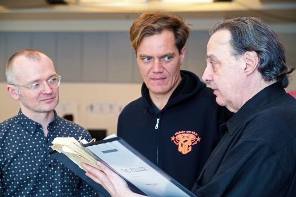 Director Darko Tresnjak, Michael Shannon and Michael Feingold Photo
