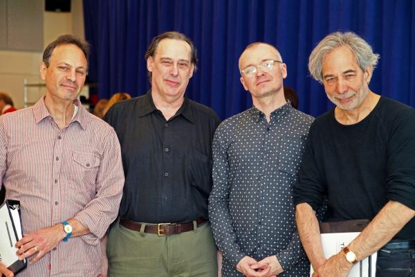Dramaturg Jonathan Kalb, Translator Michael Feingold, Director Darko Tresnjak and TFANA Founding Artistic Director