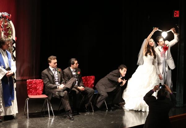Photo Coverage: Inside Opening Night of TONY N' TINA'S WEDDING