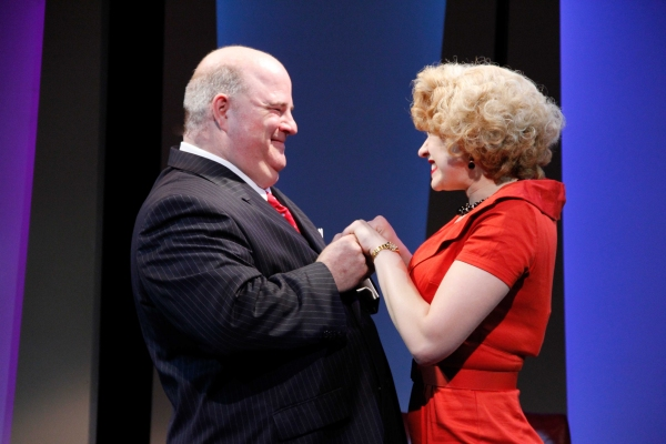 Fred Zimmerman as Mr. Biggley and Emily Ariel Rogers as Hedy La Rue