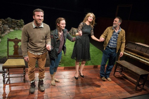 Curtain Call - Justin Hagan, Elizabeth A. Davis, Lisa Tierney-Keogh and Victor Verhaeghe
