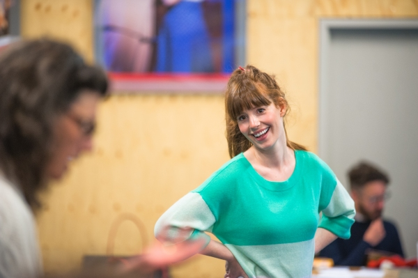 Photo Flash: In Rehearsal with Tom Mannion, Brid Brennan & Cast of Regent's Park Open Air Theatre's ALL MY SONS