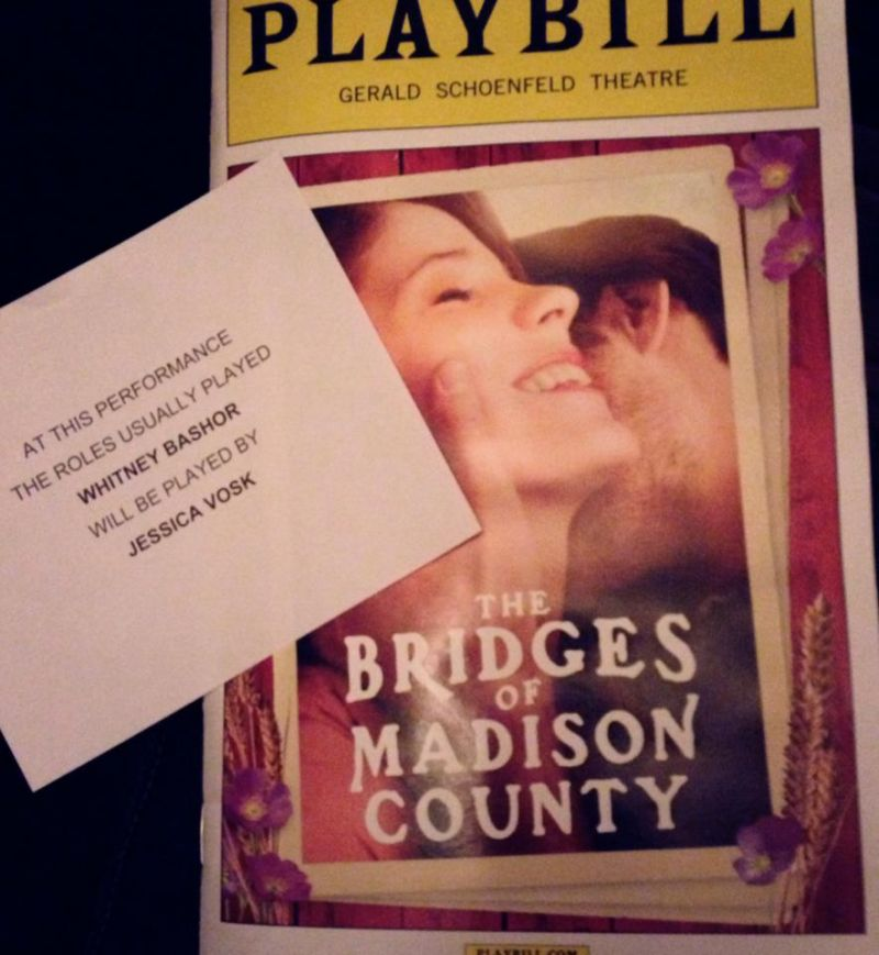 BWW Interviews: WEST SIDE to MADISON COUNTY - Jessica Vosk, Part 2
