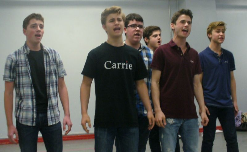 Photo Coverage: Broadway Workshop's CARRIE in Rehearsal