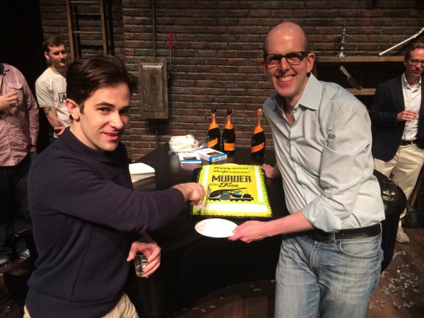 Photo Flash: MURDER FOR TWO Celebrates 200th Performance