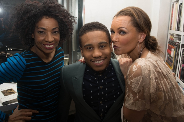 Adriane Lenox, Virgil Gadson, Vanessa Williams Photo