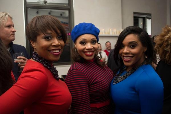 Rosena M. Hill Jackson, Carmen Ruby Floyd, Bryonha Marie Parham