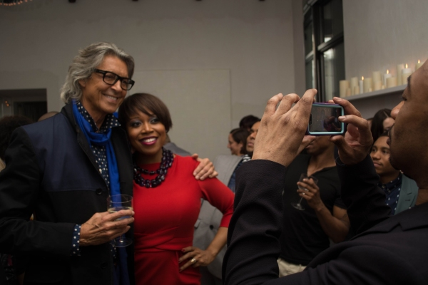 Photo Flash: AFTER MIDNIGHT Cast Celebrates Tonys Success with Tommy Tune!