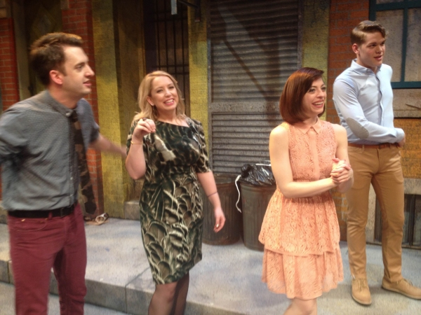 Photo Flash: First Look at Opening Night of Mercury Theater's AVENUE Q