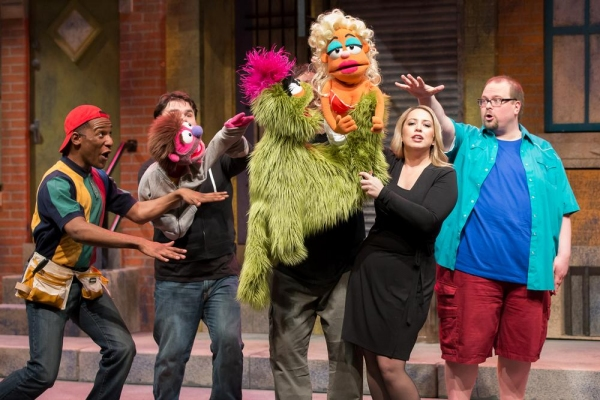 Photo Flash: First Look at Jackson Evans , Leah Morrow and More in Mercury Theater's AVENUE Q