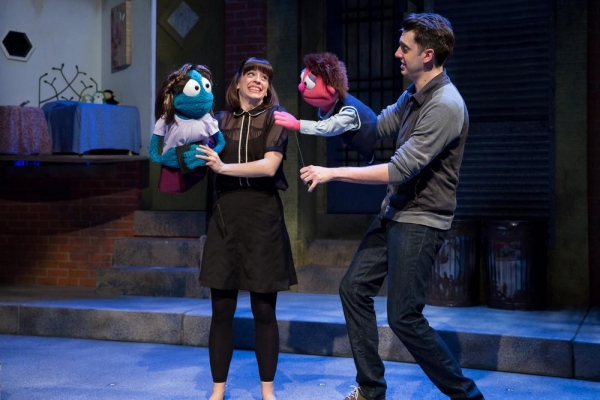 Leah Morrow as Kate Monster and Jackson Evans as Princeton