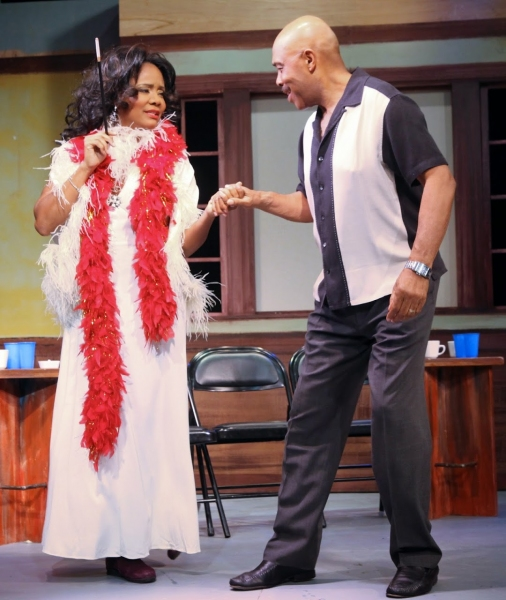 Photo Flash: First Look at Tonya Pinkins in THE FABULOUS MISS MARIE, Opening Tonight Off-Broadway