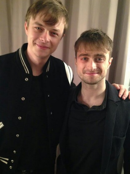 Twitter Watch: Spider-Man in Inishmaan? Dane DeHaan Visits Daniel Radcliffe Backstage!