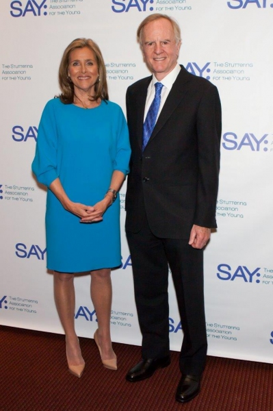 Meredith Vieira and John Sculley Photo