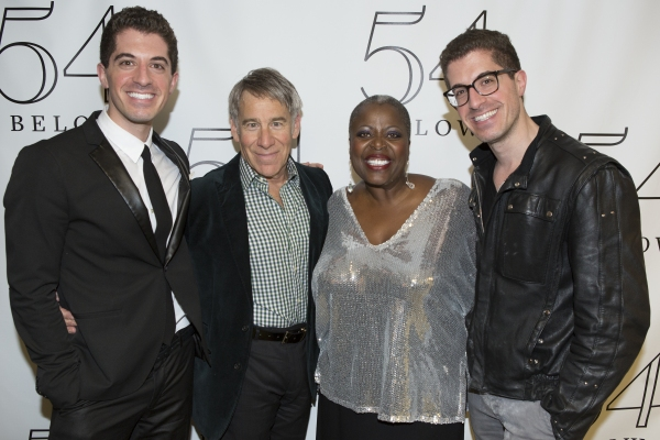 Anthony Nunziata, Stephen Schwartz, Lilias White and Will Nunziata