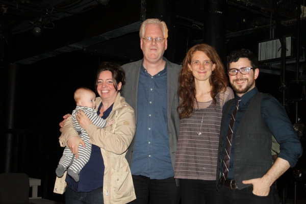 Kori Rushton, Daniel Rushton, Robert Lyons, Lee Sunday Evans and Jordan Seavey Photo