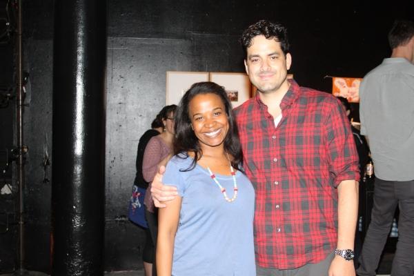 Eboni Booth and Jorge Cordova