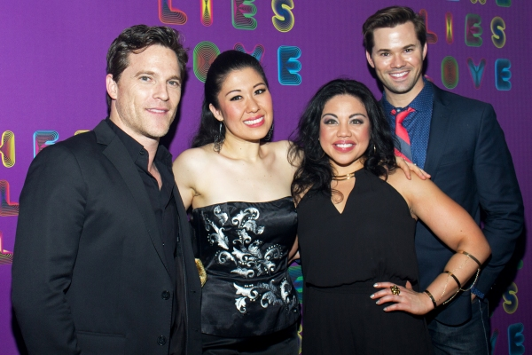 Mike Doyle, Ruthie Ann Miles, Maria-Christina Oliveras, Andrew Rannells Photo