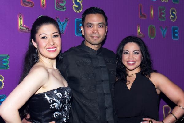 Ruthie Ann Miles, Jose Llana, Maria-Christina Oliveras