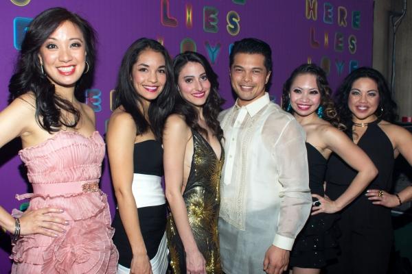 Jaygee Macapugay, Janelle Velasquez, Natalie Cortez, Vincent Rodriguez III, Carol Angeli, Maria-Christina Oliveras