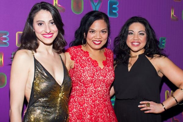 Natalie Cortez, Melody Butiu, Maria-Christina Oliveras