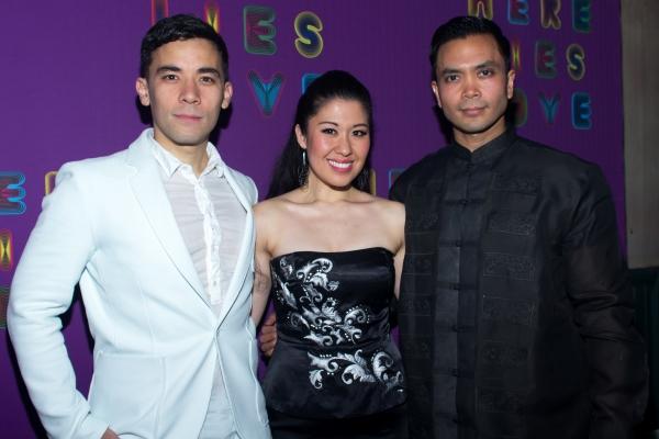 Conrad Ricamora, Ruthie Ann Miles, Jose Llana