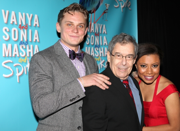 Billy Magnussen, Nicholas Martin, and Shalita Grant