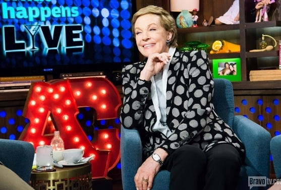 Photo Flash: Idina Menzel, Julie Andrews Stop By WATCH WHAT HAPPENS LIVE!