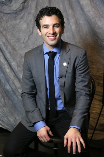 In the Spotlight Series: In the Tonys Photo Booth with Nominee Jarrod Spector