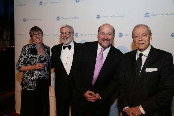 Pat Hoag Simon, Jud Shaver, Frank Wildhorn, John Simon Photo