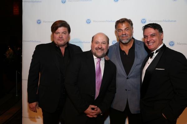 Rob Evan, Frank Wildhorn, Chuck Wagner, Robert Cuccioli Photo