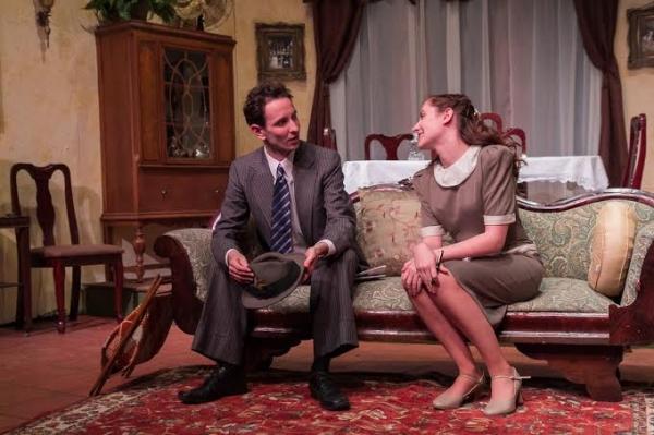 Charles Roth (Joe Farkas) and Erin Shaughnessy (Lala Levy)