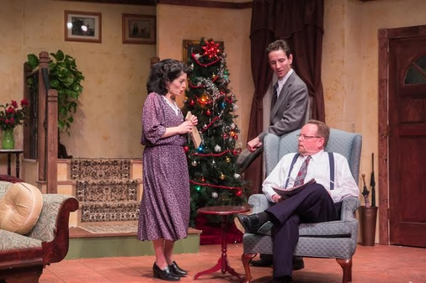 Susan Abrams (Boo Levy), Charles Roth (Joe Farkas), and Stephen Ross (Adolph Freitag)