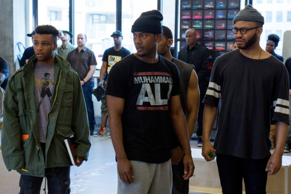 Photo Coverage: Tupac on Broadway! Meet the Cast of HOLLER IF YA HEAR ME
