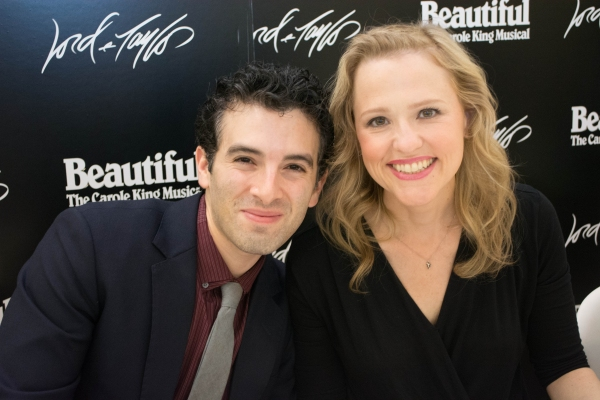 Photo Flash: Jessie Mueller, Jake Epstein, Anika Larsen and Jarrod Spector at BEAUTIFUL CD Signing at Lord & Taylor