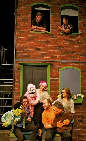 Justin Lynn (Brian), Corinna Lapid Munter (Christmas Eve), James Sgambati (Rod), Kylee Gano (Kate Monster), and Ryan P. O''Donnell & Kayla Teel (Nicky)