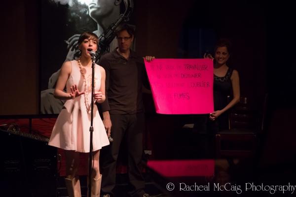 Steffi Didomenicantonio leading a Sing a Long  Photo