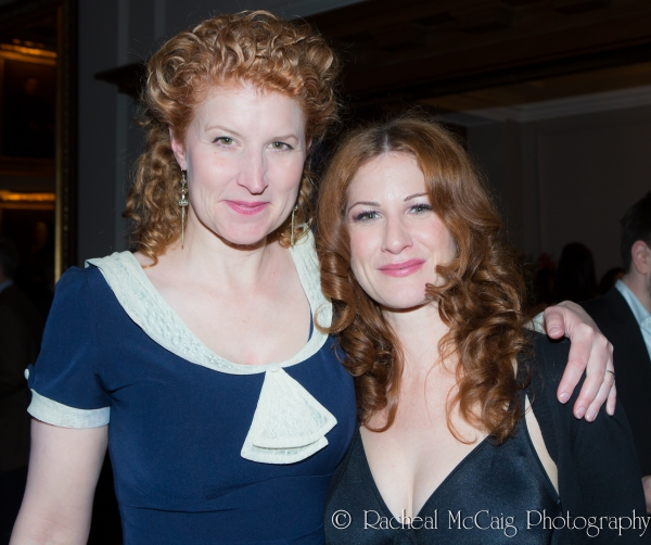Theatre20 founding members Eliza-Jane Scott and Carly Street Photo