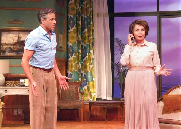 Photo Flash: First Look at Leslie Caron and David Engel in Laguna Playhouse's SIX DANCE LESSONS IN SIX WEEKS