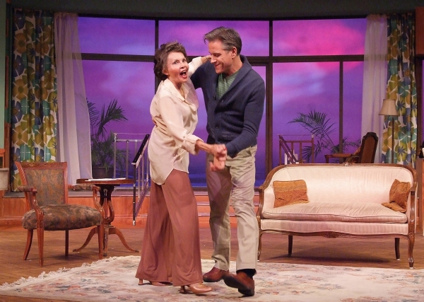 Leslie Caron and David Engel