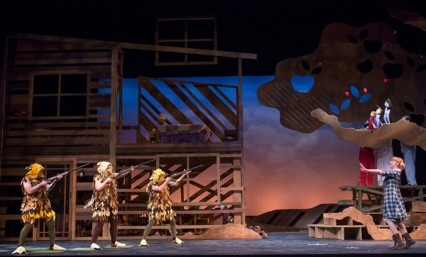 Photo Flash: First Look at MainStreet Theatre's THE MAGIC FINGER