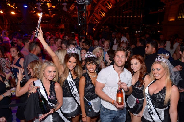 Photo Flash: Juan Pablo Galavis Hosts Bachelorette Bash at Chateau Nightclub & Rooftop