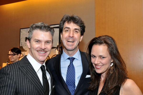 Denis Jones, Jason Robert Brown and Georgia Stitt