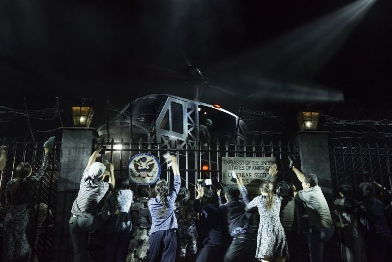 Photo Flash: The Heat is BACK On! MISS SAIGON Returns to West End - First Look!